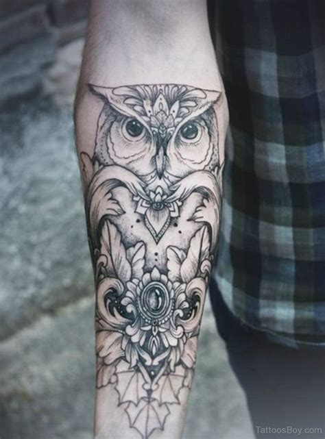 owl arm tattoo owl tattoos designs pictures page 17