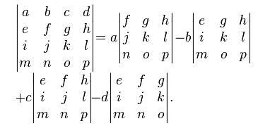 A comprehensive beginners guide to Linear Algebra for Data ... C- 4x4 Matrix Inverse