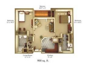 How Big Is 900 Square 900 Square Foot House Plans Property Magicbricks