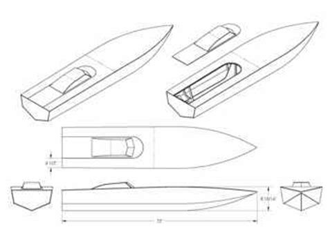 rc boat hull drawing radio controlled power boat plans and blueprints