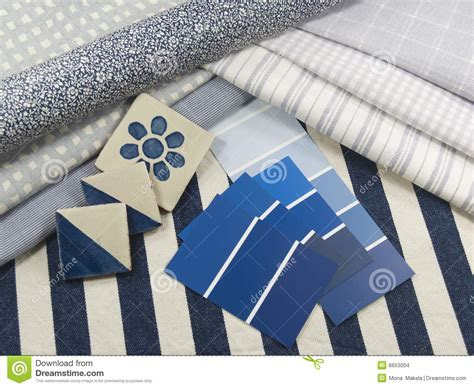 blue and white interior design plan stock images image 6653004