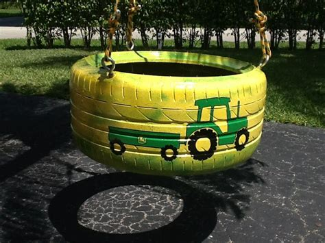 tractor tire swing 17 best images about tire swings from www cooltireswings