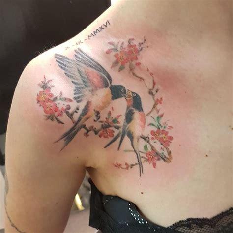 find  swallow tattoo ideas