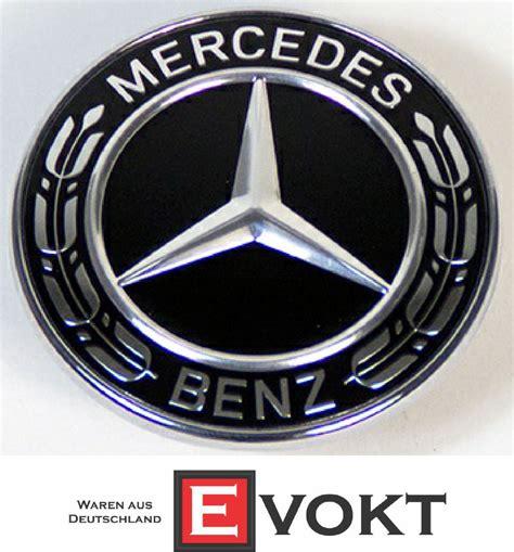 Emblem C 43 Mercedes Mercedes C Class W205 S205 Black Bonnet Emblem Logo