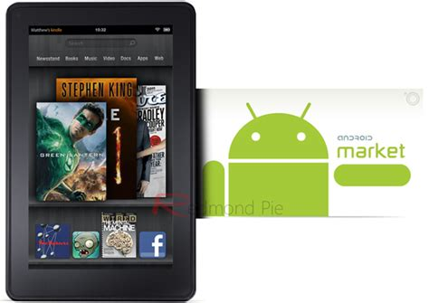 kindle for android home install android market on kindle how to tutorial redmond pie