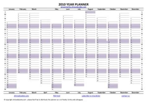 printable a3 academic year planner download free year planner for 2010 shrewdcookie com