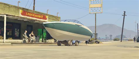 boat car gta car boat menyoo gta5 mods