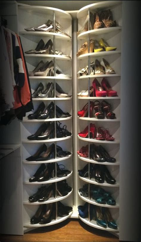 25 best ideas about shoe corner shoe rack best 25 revolving shoe rack ideas on