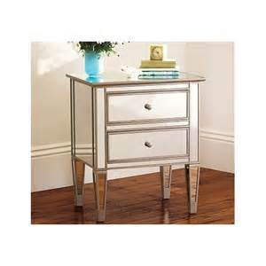 Bedside Table Amazon by Amazon Com Pottery Barn Park Mirrored Bedside Table