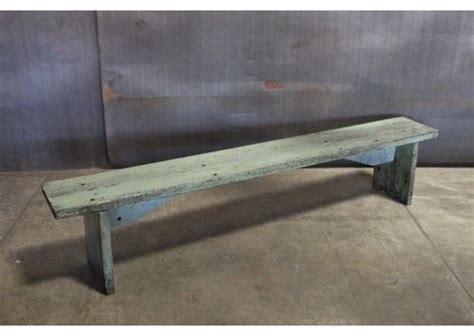 blue wood bench wood bench in blue 84 quot home pinterest wood benches