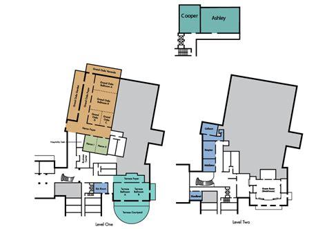 sanctuary floor plans the sanctuary hotel meeting space near charleston sc