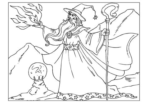 Wizard Coloring Pages Wizard Coloring Pages To Download And Print For Free by Wizard Coloring Pages