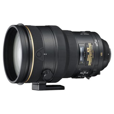 nikon lens nikon af s nikkor 200mm f 2g ed vr ii lens digital