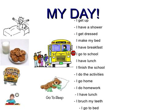 themes for english day my day fifth grade