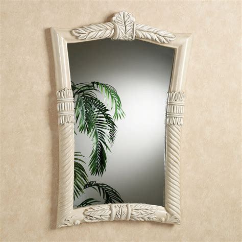 tropical bathroom mirrors baileys bay tropical leaf design wall mirror