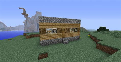 basic house small basic survival house minecraft project