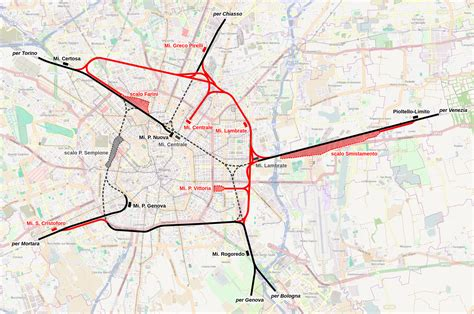 treno bergamo porta garibaldi mappa stradale e metropolitana