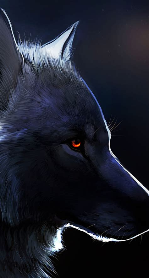 wallpaper iphone 6 wolf red eyed black wolf the iphone wallpapers
