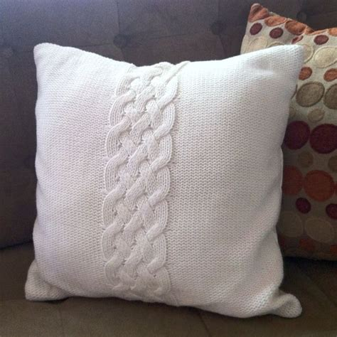 knitting pillow knit pillows cable knit pillow crochet knit