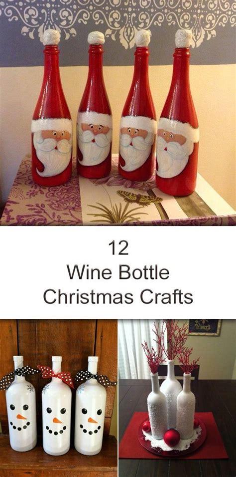 christmas wine vintage designed by arcadia floral home 12 amazing wine bottle christmas crafts f 246 r hemmet och id 233 er