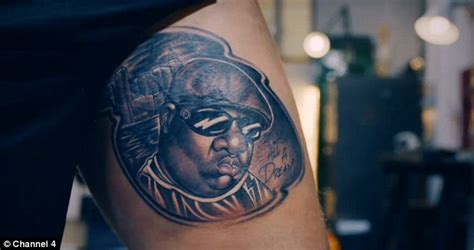 penis tattoos fixers fix s and give him biggie