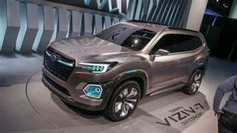 Largest Subaru Suv Viziv 7 Suv Concept Is The Subaru Of All