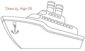 ship outlines cruise ship outline