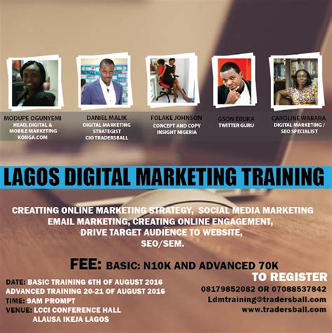 Digital Marketing Classes by About Lagos Digital Marketing Sidewap