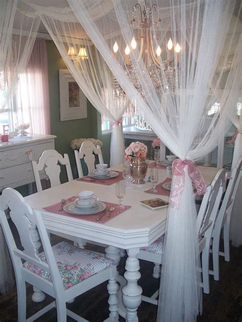Shabby Chic Dining Room Decor by 25 Shabby Chic Style Dining Room Design Ideas Decoration