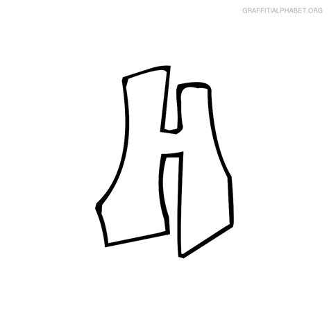 Letter H Drawing by H Letter Drawing Clipart Best