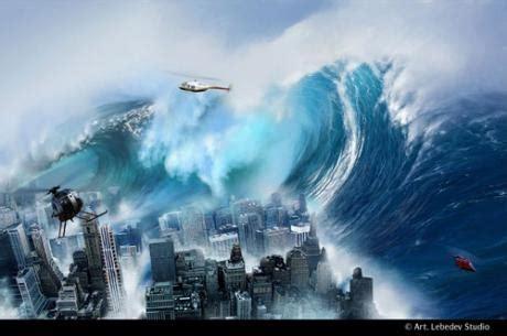 l'elenco dei mega tsunami che hanno sconvolto il pianeta