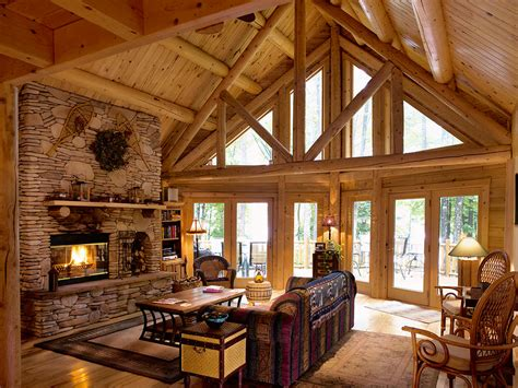 katahdin log home floor plans plantation log home floor plan by katahdin cedar log homes