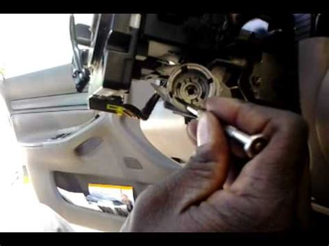 audi a4 ignition switch & key lock youtube