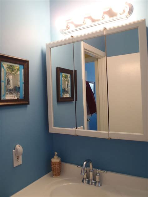 diy framing bathroom mirror system