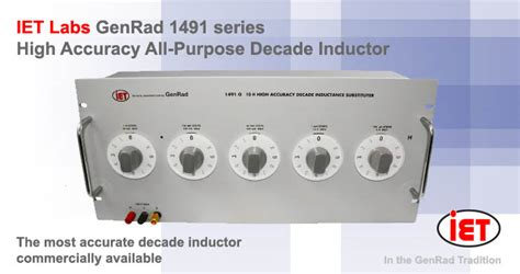 iet labs 1491 series decade inductance box decade inductors ac dc measuring instruments