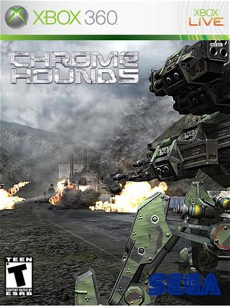 chromehounds xbox 360 box art cover by treesquirrel12