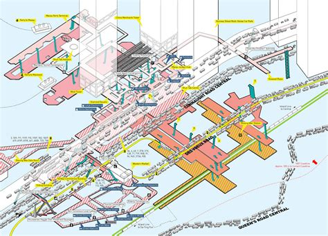Bus Terminal Floor Plan Design Cities Without Ground A Hong Kong Guidebook 3d Maps