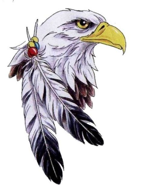 eagle feather tattoo designs bald eagle feathers eagle with two feathers