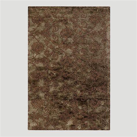 jute rug world market relief jute wool rug in chocolate world market