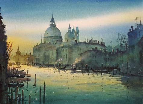 stunning watercolor art  javid tabatabaei art people