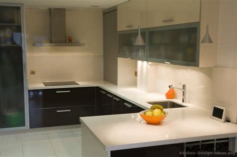 Pictures Of Kitchens Modern Two Tone Kitchen Cabinets Contemporary Kitchen Cabinets Design 2