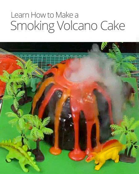 what are lava ls made out of how to make a smoking volcano cake i m a survivor