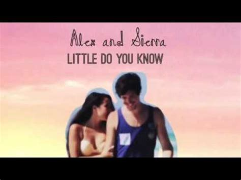 back to you alex and sierra free mp3 download little do you know speed up mp3 download stafaband