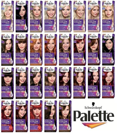 Schwarzkopf Palette Intensive Color schwarzkopf palette intensive color creme permanent hair