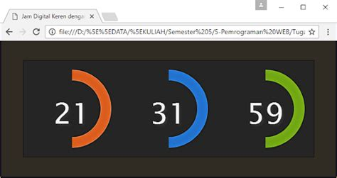 membuat jam digital dengan php dan jquery tutorial membuat widget jam digital keren dengan jquery