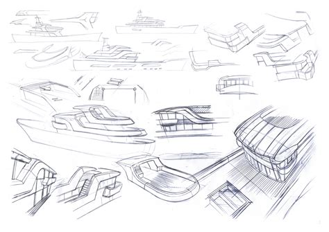 Classic Home Design Concepts Summer Yacht Concept Sketches Yacht Charter