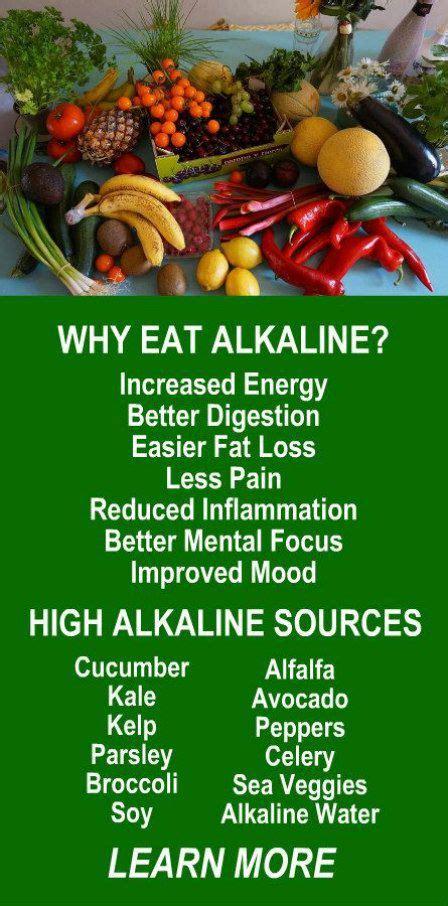 Alkaline Detox Symptoms by Best 25 Alkaline Foods Ideas On Acidic Foods
