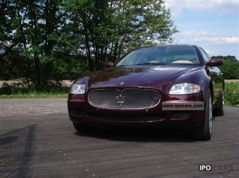 2006 Maserati Quattroporte Specs by 2006 Maserati Quattroporte Duoselect Car Photo And Specs