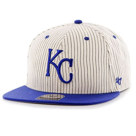 47 brand kansas city royals mlb woodside stripe snapback