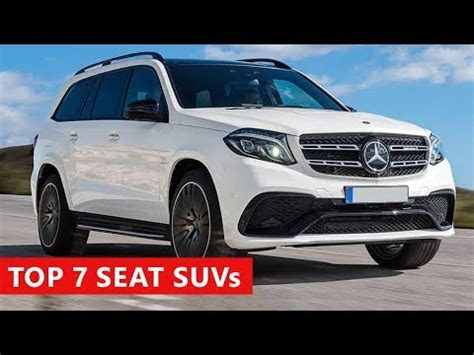 7 amazing 7 seater suvs and 3 row cars coming in 2018